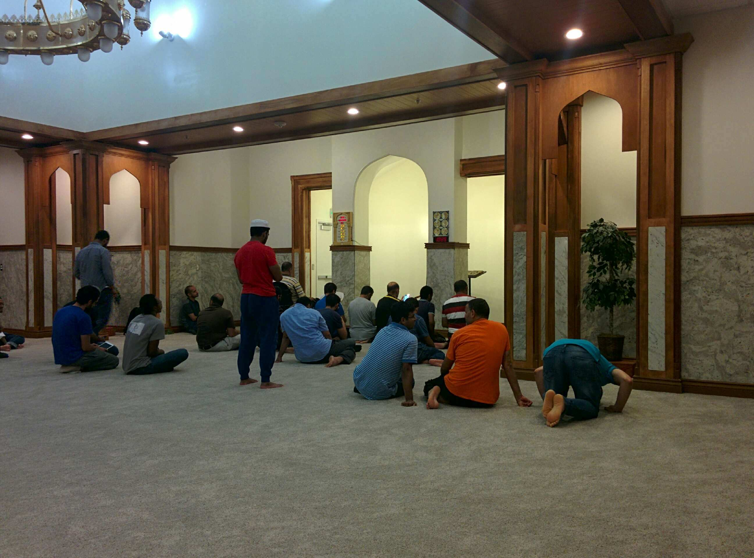 Stillwater Masjid Prayer Hall